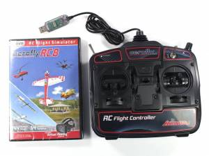 simulateur Aerofly RC8 + Game commander mode 2