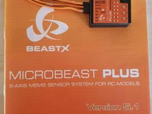 Système flybarless beastx PLUS neuf v5.1