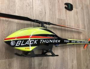 Goblin 700 black Thunder sport