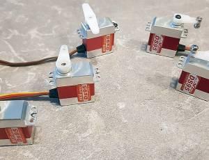 5 Servos MKS DS95 TBE