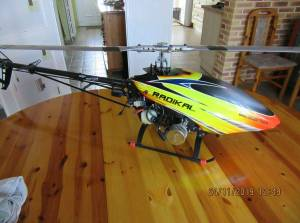 vends helico thermique radical comme neuf
