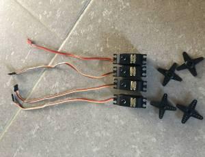 3x MKS DS9660A+ et 1x DS8910A+