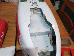 Maquette hélico Bell UH1 1 taille 500 et hélicos