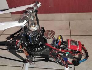 Hélico Chronos 700 et pièces détachées