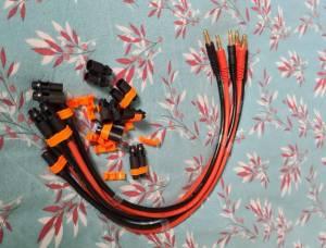 Plusieurs câbles de charge