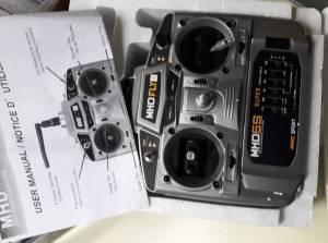 RADIO 6V MODE 1 AVEC RECEPTEUR  ENSEMBLE NEUF, 50 €