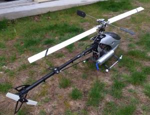 hélicoptère raptor 90