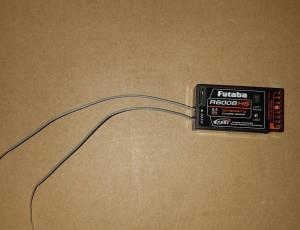 récepteur FUTABA R6008HS état neuf.