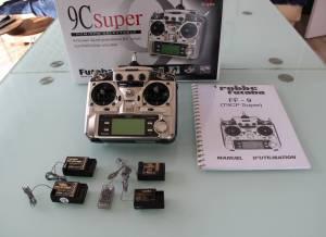 Radiocommande  Futataba  FF 9 Super