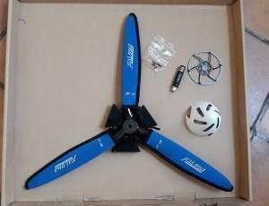 avion helice tripale electrique FALCON neuve F 3 A