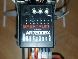Récepteur Spektrum Helico Rc AR7200BX Neuf AFFAIRE