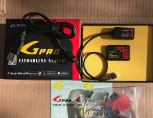 GPRO FLYBARLESS + MODULE SMARPHONE 60€