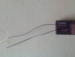 Récepteur R617FS Futaba FASST 2.4Ghz 7 ch