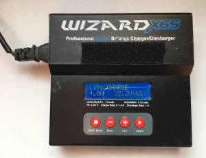 chargeur accus lipo wizard x6s