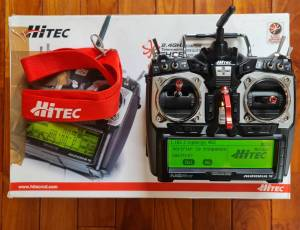 Radio Hitec Aurora France + RX Optima + RX Minima