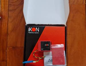 Module Flybarless IKON V1 avec extension bluetooth