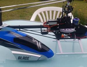 Hélicoptère  flybarless Blade 450X