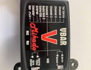 Mikado VBar Silverline pro 5.3 et son gyro