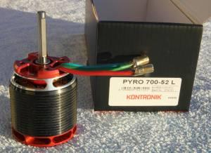 Moteur Kontronik PYRO 700-52L, 130 €, 130 €