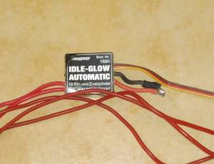 Glow driver Graupner multicylindre