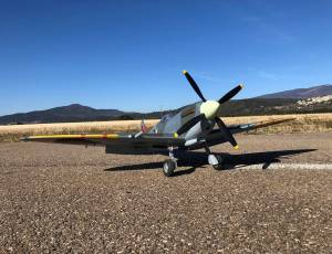 Spitfire mk2 flightline rc