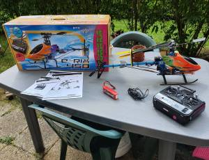 Hélicoptère Jamara E-RIX 450