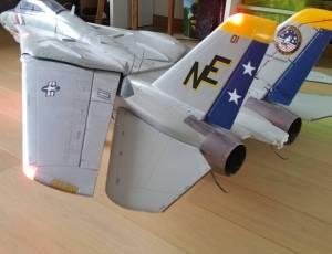Jet rc edf freewing f-14 twin 80 edf