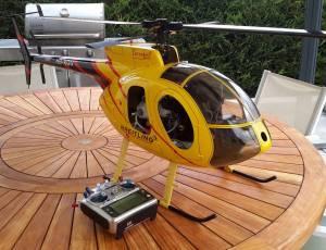 hélicoptère HUGUES MD500E  complet envoi possible, 580 €
