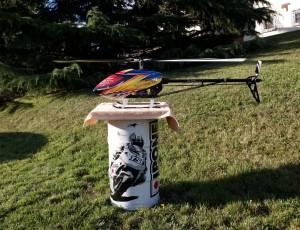 t-rex 600 e pro dfc + radio,complet, prêt à voler