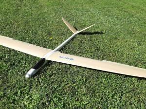 Planeur BISKA de Silence Model de 2 m d'envergure