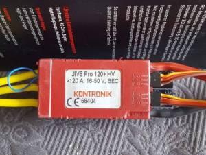 Kontronik jive 120 +hv pro, 340 €
