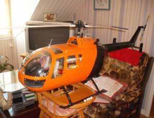vends helico neuf bo 105