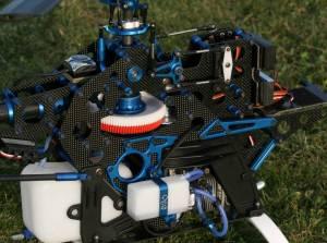 Raptor 90 SE avec toutes options et kit VMAX.