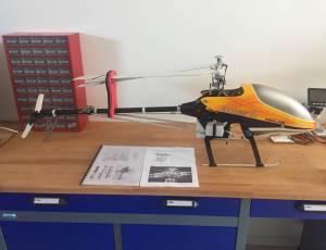 Hélicoptère klone rc 50+ pieces