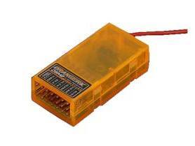 MINI RECEPTEUR 2.4GHZ  6 VOIES  ORANGE RX spektrum