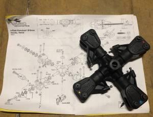Tête rotor VARIO