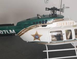 Bell 407 sheriff, 2500 €