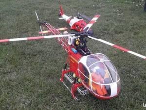 Helico Lama Hirobo SA 315B électrique, 750 €