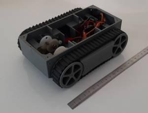 Kit chassis RP5 (chenillette rc ou pour robot)