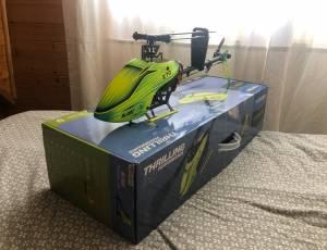 Helico Blade Rc 270 FUSION Excellent État AFFAIRE