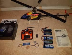 Hélicoptere ALIGN T-REX 500E PRO