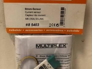MULTIPLEX CAPTEUR DE COURANT 35A - 85403