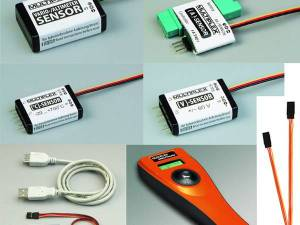 Set de capteurs télémétrie M-Link Multiplex  85430