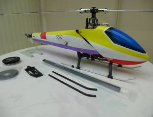 Hélico HK 500 Flybarless