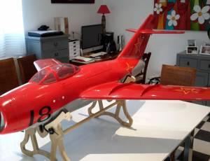 jet MIG 15 avec reacteur kintech poussée 8kg 2450€