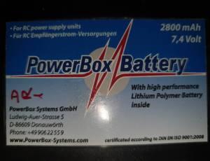 Ensemble pack accu Power box