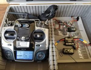 Radiocommande Graupner MX16 hott