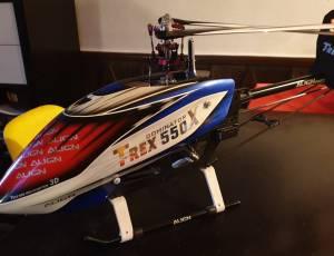 T REX 550 X