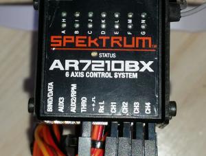 Récepteur Spektrum AR7210BX Flybarless DSMX NEUF