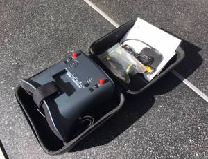 Drone vidéo carbone pliable neuf avec radio